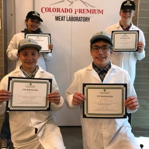 2019 Meat Judging Team
